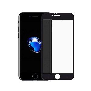 Película Coverage Color para iPhone 7 Plus - Preta - Gshield (Cobre toda tela)