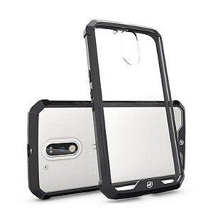 Capa Ultra Slim Air Preta para Motorola Moto G4 e G4 Plus - Gorila Shield