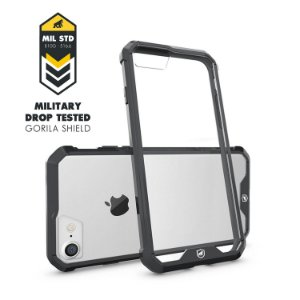 Capa Ultra Slim Air Preta para Iphone 7 e 8 - Gorila Shield