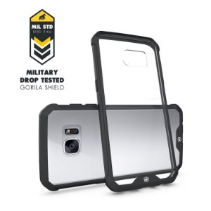 Capa Ultra Slim Air Preta para Samsung Galaxy S7 Edge - Gorila Shield