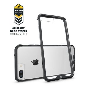 Capa Ultra Slim Air Preta para Iphone 7 Plus - Gorila Shield