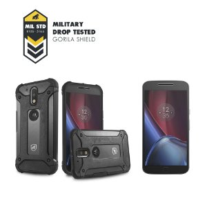 Kit Capa D-Proof e Película de Vidro para Motorola Moto G4 Plus - Gorila Shield