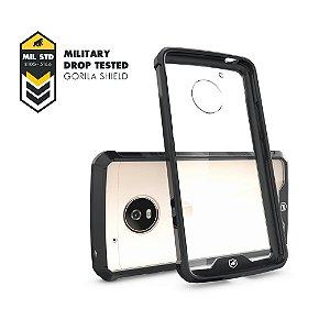 Capa Ultra Slim Air Preta para Motorola Moto G5 - Gorila Shield