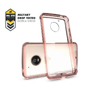 Capa Ultra Slim Air Rosa para Motorola Moto G5 - Gorila Shield