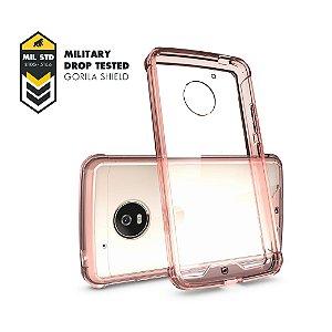 Capa Ultra Slim Air Rosa para Motorola Moto G5 - Gorila Shield