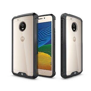 Capa Ultra Slim Air Preta para Motorola Moto G5 Plus - Gshield