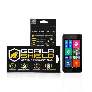 Película de vidro para Microsoft Lumia 520 - Gorila Shield