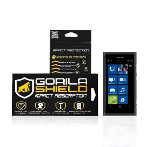 Película de vidro para Microsoft Lumia 800 - Gorila Shield