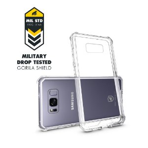 CAPA GALAXY S8 PLUS - ULTRA CLEAR - GORILA SHIELD