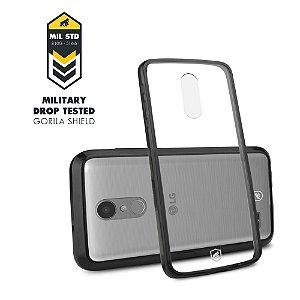 Capa Ultra slim Air Preta para LG K10 Pro - Gorila Shield