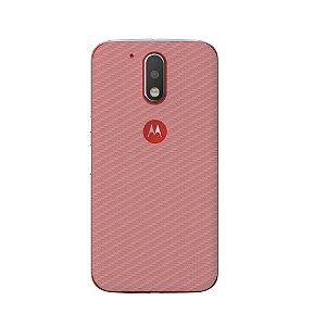 Película Traseira de Fibra de Carbono Transparente para Motorola Moto G4/G4 Plus - Gorila Shield