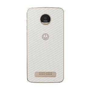 Película Traseira de Fibra de Carbono Transparente para Motorola Moto Z Play - Gshield