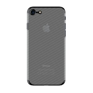 Película Traseira de Fibra de Carbono Transparente para Apple IPhone 7 - Gorila Shield