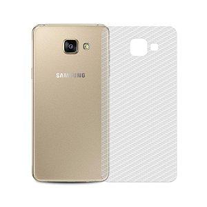Película Traseira de Fibra de Carbono Transparente para Samsung Galaxy A5 2016 - Gshield