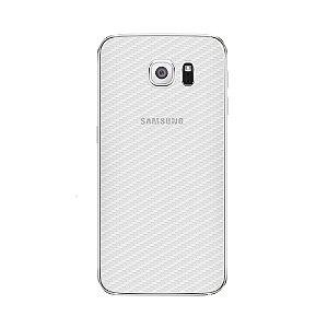 Película Traseira de Fibra de Carbono Transparente para Samsung Galaxy S6 Edge - Gshield