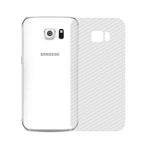 Película Traseira de Fibra de Carbono Transparente para Samsung Galaxy S6 - Gorila Shield