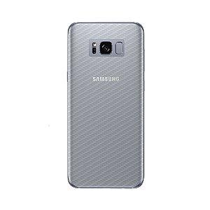 Película Traseira de Fibra de Carbono Transparente para Samsung Galaxy S8 Plus - Gshield