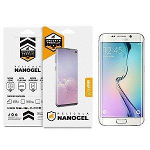 Película Nano Gel Dupla para Samsung Galaxy S6 Edge - Gshield (Cobre toda tela)