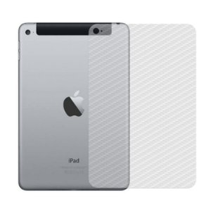 Película Traseira de Fibra de Carbono Transparente para  Apple iPad Mini 4 - Gorila Shield