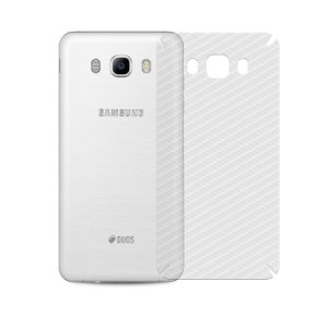 Película Traseira de Fibra de Carbono Transparente para  Samsung Galaxy J5 Metal  - Gshield