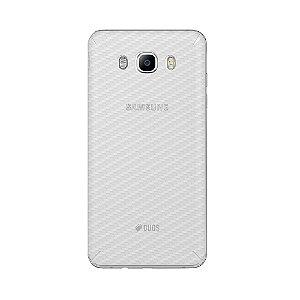 Película Traseira de Fibra de Carbono Transparente para  Samsung Galaxy J5 Metal  - Gorila Shield