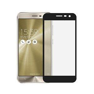 Película Coverage 5D Pro Preta para Asus Zenfone 3 ZE520KL - Gshield (Cobre toda tela)