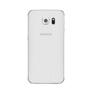 Película Traseira de Fibra de Carbono Transparente para Samsung Galaxy S6 Edge Plus - Gorila Shield