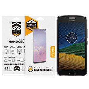 Película Nano Gel Dupla para Motorola Moto G5 – Gshield (Cobre toda tela)