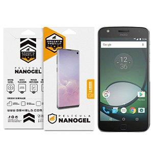 Película Nano Gel Dupla para Motorola Moto Z Play - Gshield (Cobre toda tela)