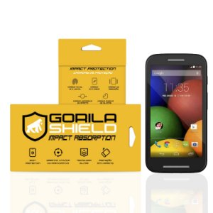 Película de vidro para Moto E – Double Protection – Gorila Shield