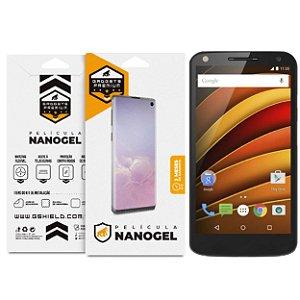 Película Nano Gel dupla para Motorola Moto X Force - Gshield (Cobre toda tela)