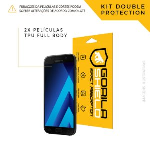 Película Full Coverage Frontal para Galaxy A5 2017 – Double Protection – Gorila Shield