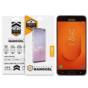 Película Nano Gel Dupla para Samsung Galaxy J7 Prime - Gshield (Cobre toda tela)