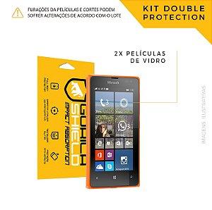 Película de vidro para Microsoft 435 – Double Protection – Gorila Shield