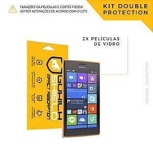 Película de vidro para Microsoft 730 – Double Protection – Gorila Shield