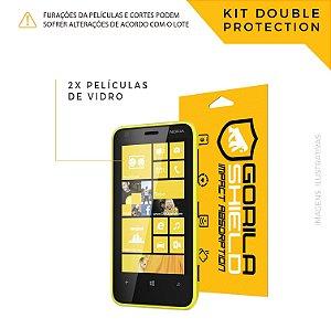 Película de vidro para Microsoft 625 – Double Protection – Gorila Shield
