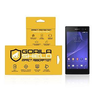 Película de Vidro Dupla para Sony Xperia C3 - Gorila Shield