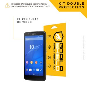 Película de vidro para Sony E4 – Double Protection – Gorila Shield