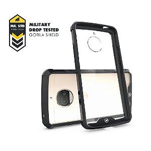 Capa Ultra Slim Air Preta para Moto G5S Plus - Gorila Shield