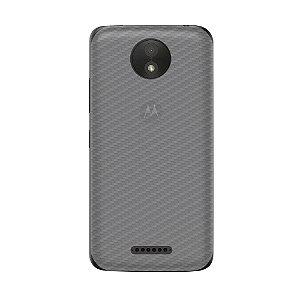 Película Traseira de Fibra de Carbono Transparente para Motorola Moto C Plus - Gshield