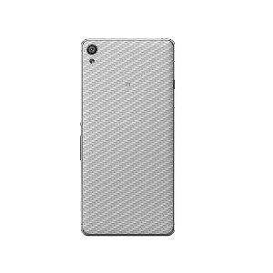Película Traseira de Fibra de Carbono Transparente para Sony Xperia XA1 - Gorila Shield