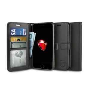 Capa Carteira Preta para Iphone 7 Plus e 8 plus - Gorila Shield