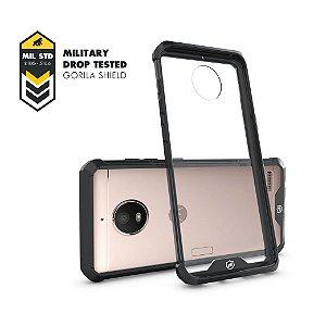 Capa Ultra Slim Air Preta para Motorola Moto E4 - Gorila Shield