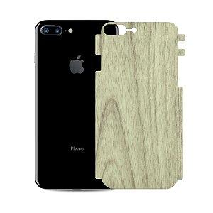 Skin Película Traseira Madeira Clara para Apple iPhone 7 Plus