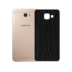 Skin Película Traseira Couro para Samsung Galaxy J7 Prime - Gorila Shield