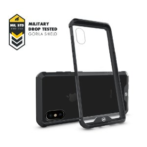 Capa Ultra Slim Air Preta para Apple iPhone X - Gorila Shield