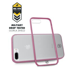 Capa Pink para Iphone 7 Plus / 8 Plus - Gorila Shield
