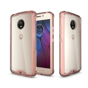 Capa Ultra Slim Air Rosa para Motorola Moto G5S - Gorila Shield