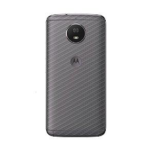 Película Traseira de Fibra de Carbono Transparente para Motorola Moto G5S - Gorila Shield