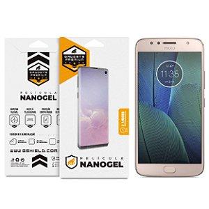 Película Nano Gel Dupla para Motorola Moto G5s – Gshield (Cobre toda tela)
